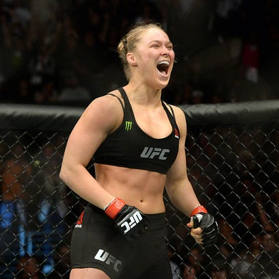 Ronda Rousey puts her unbeaten record and bantamweight title on the line against Beth Correia at UFC 190.