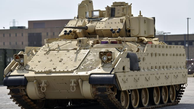 The push for modernization spans the breadth of the Army's weaponry and vehicles. The Army needs to update its Bradley Fighting Vehicle, a tank platform that's been in service since 1981.