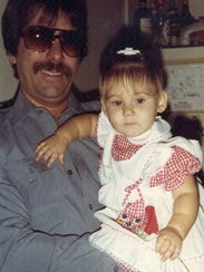 Al Kinkle with his daughter Kimberly Anne Kinkle.