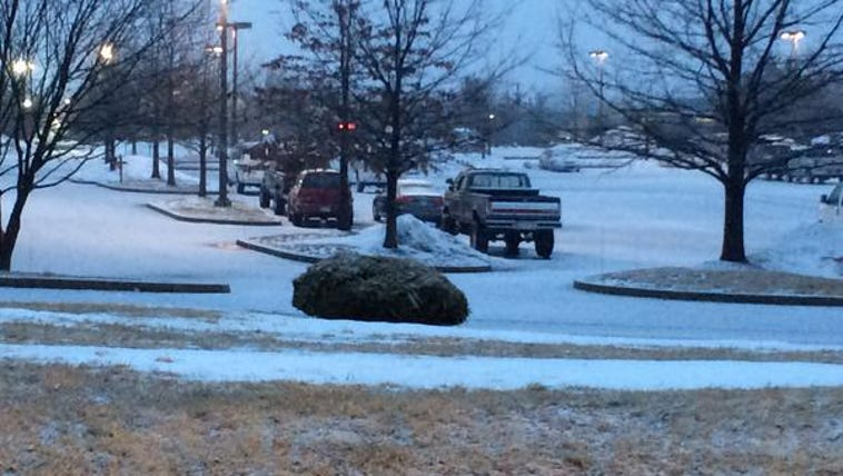 Snow in Frederick