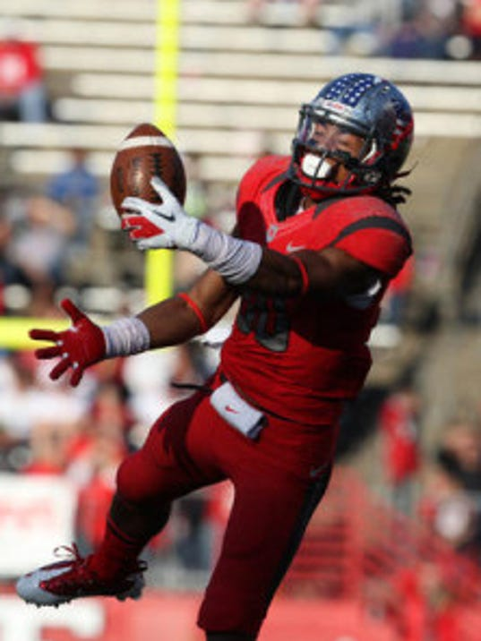 Rutgers redshirt sophomore wide receiver Ruhann Peele tied for third on the team last season with 28 catches. (MyCentralJersey.com file photo)