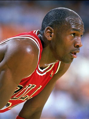 Michael Jordan: five-time NBA MVP