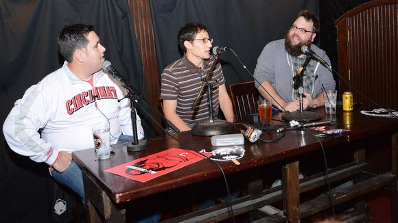 The Premiere of The C. Show with Enquirer Reds writer C. Trent Rosecrans and host Josh Sneed. and the  Reds Director of Baseball Research/Analysis Sam Grossman.
