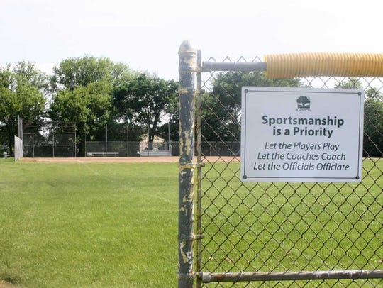 The baseball fields at Griffin Park will be transformed