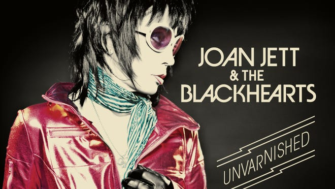 The album cover for Joan Jett & the Blackhearts' 'Unvarnished,' out Sept. 30.