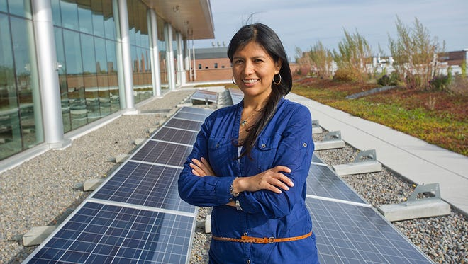 Peru native Lourdes Guiterrez is completing her Ph.D. in sustainability at Rochester Institute of Technology. She plans to take her research work back to South America to improve sustainable practices there. RIT's vast global reach includes campuses in China, Croatia, Dubai and Kosovo.