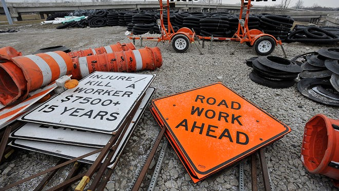 The construction is part of a 14-year, $1.3 billion project, which will be split in eight stages and finished in 2030. Officials said 90 percent of the project's cost is rebuilding and replacing the freeway.