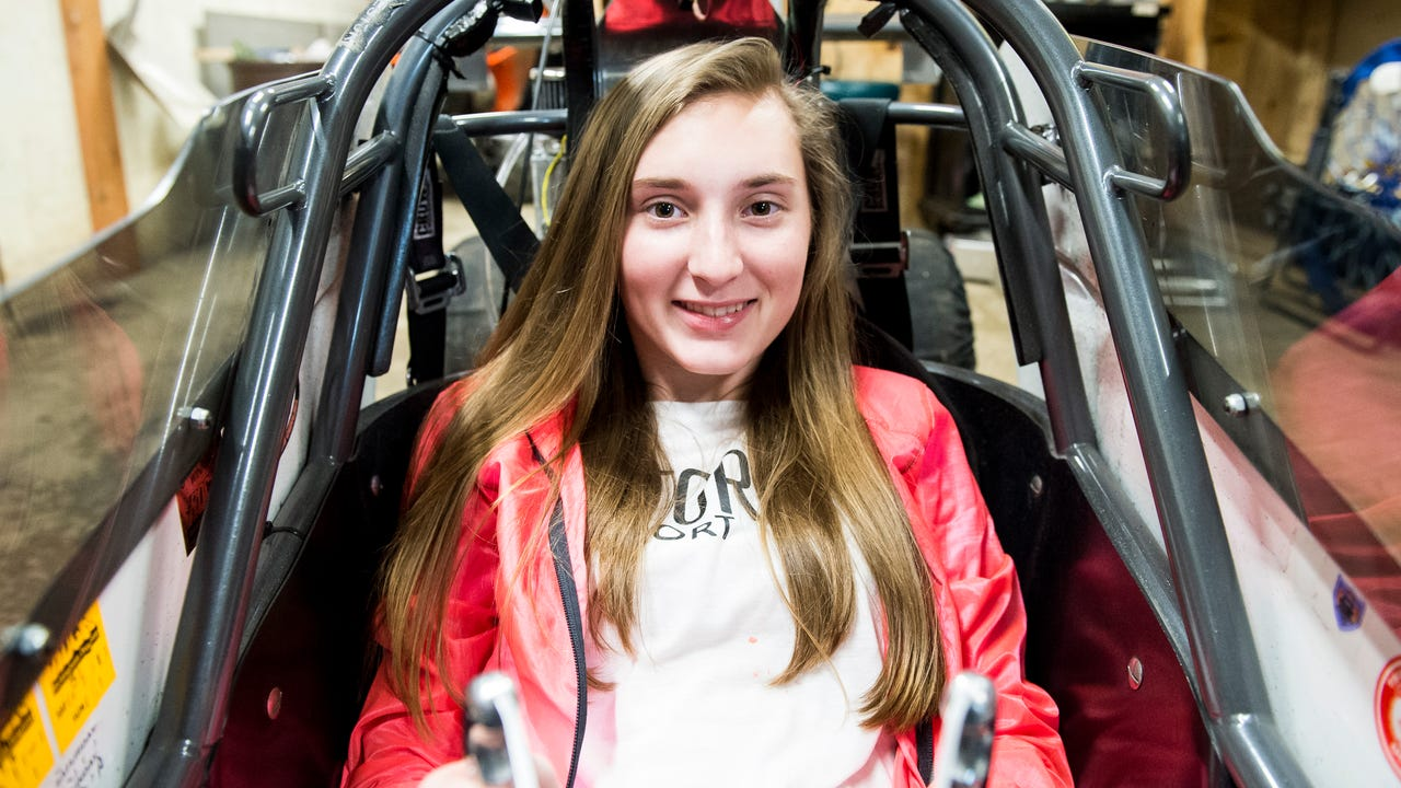 14-year-old Bailie Zepp started drag racing just three years ago. In the past seven months, she's racked up 14 wins and around $23,000 in prize money. This year, she looks to prove her mettle at the NHRA Junior Drag Racing final at Bristol Dragway.