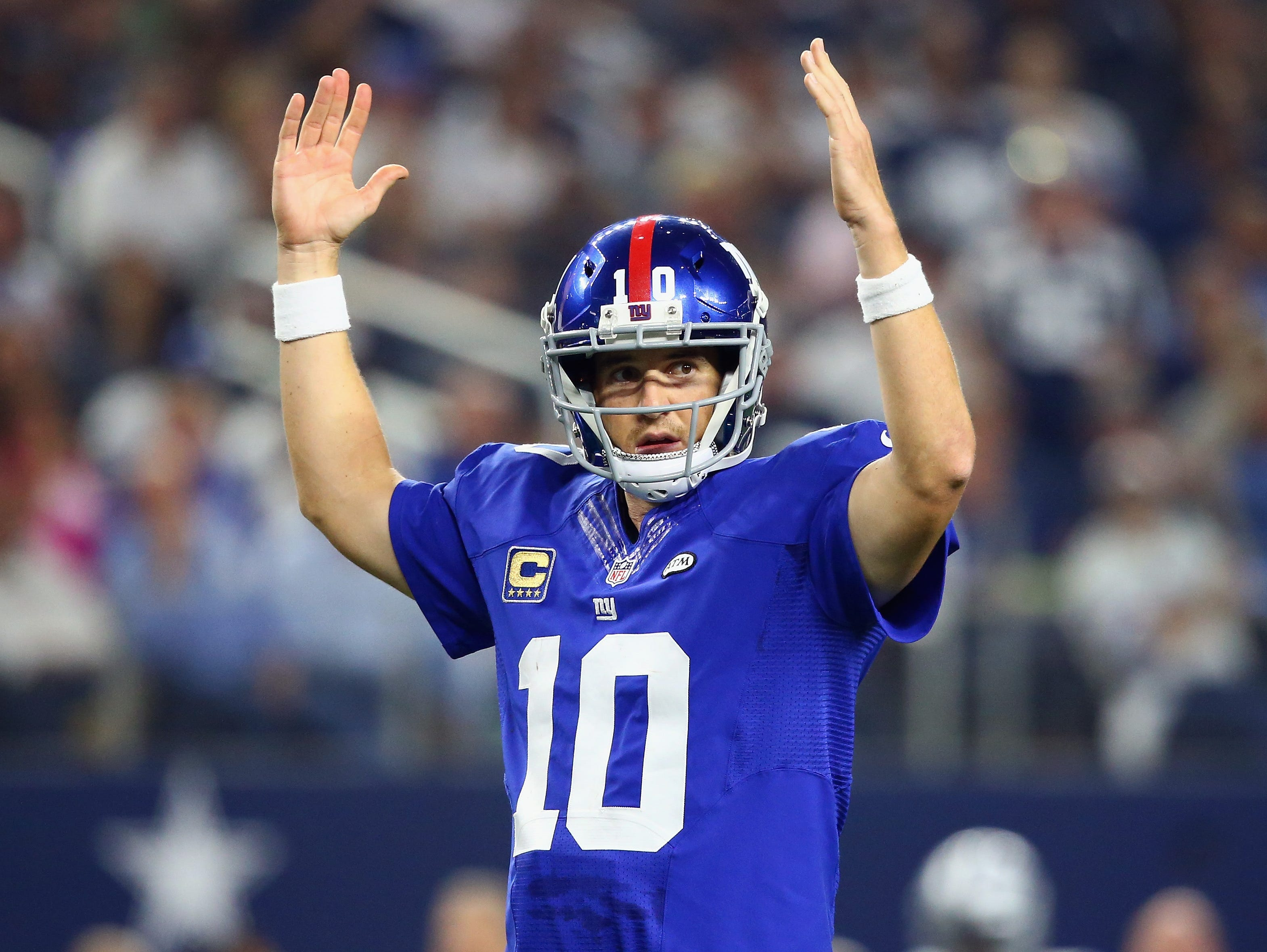 Giants quarterback Eli Manning will be the keynote speaker at the Jersey Shore Sports Awards in June of 2016.