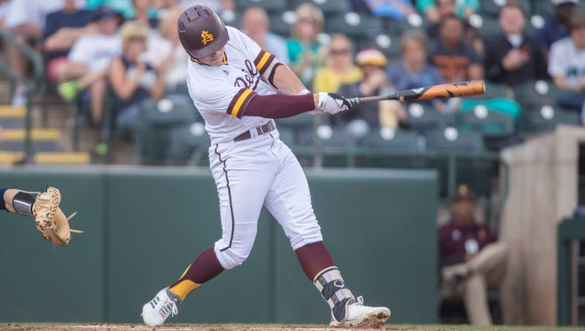 Spencer Torkelson has 11 home runs in his first 24 games at Arizona State.