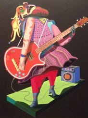 """""""The Guitar Player"""" by Leif Larson"""