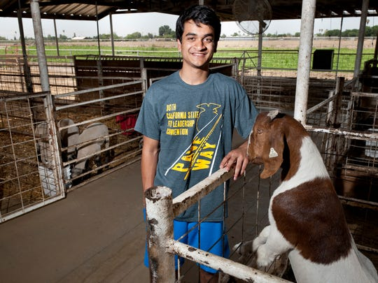 Tulare Western student Dipak Kumar was named FFA state president.