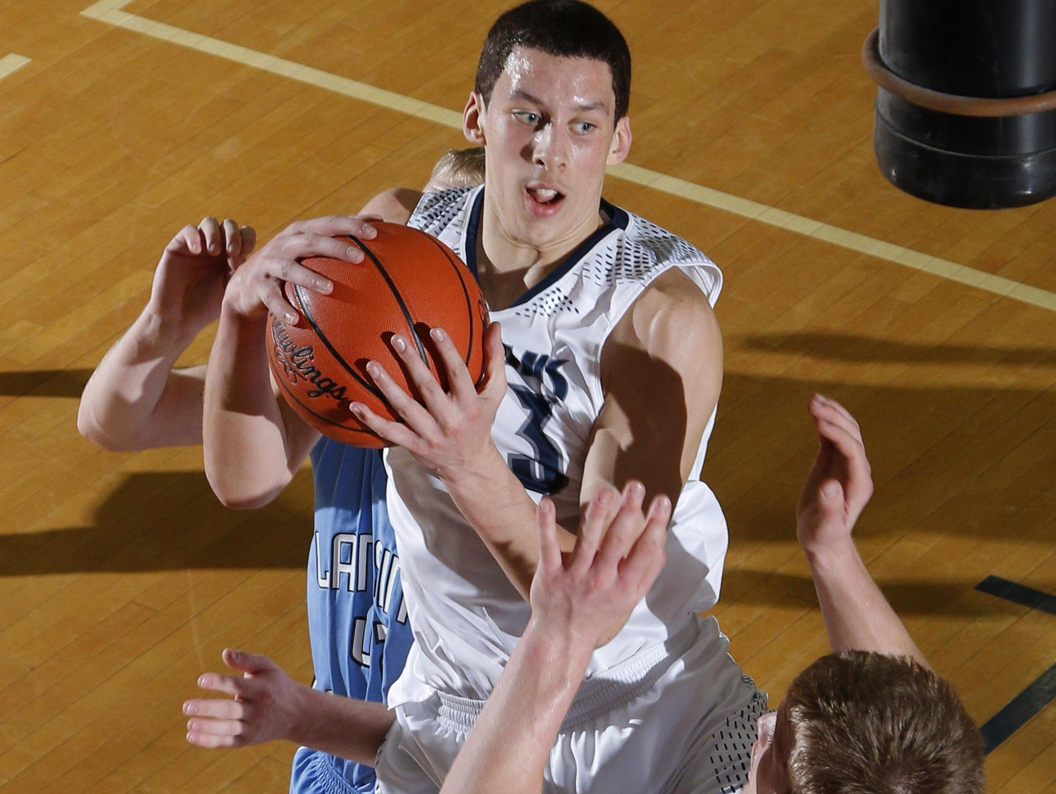 East Lansing's Brandon Johns is headed to USA Basketball Junior National Team minicamp next month.