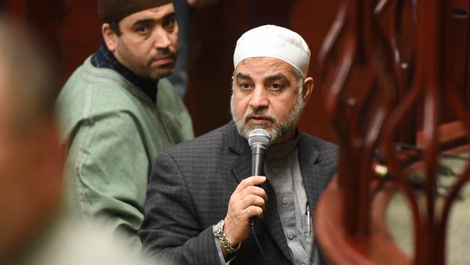 mam Qatanani, leader of the Islamic Center of Passaic County, announces at services that he will be tried once again in deportation proceedings in Newark next week, after the Department of Homeland Security appealed a judge's decision in 2008 in the imam's favor. .