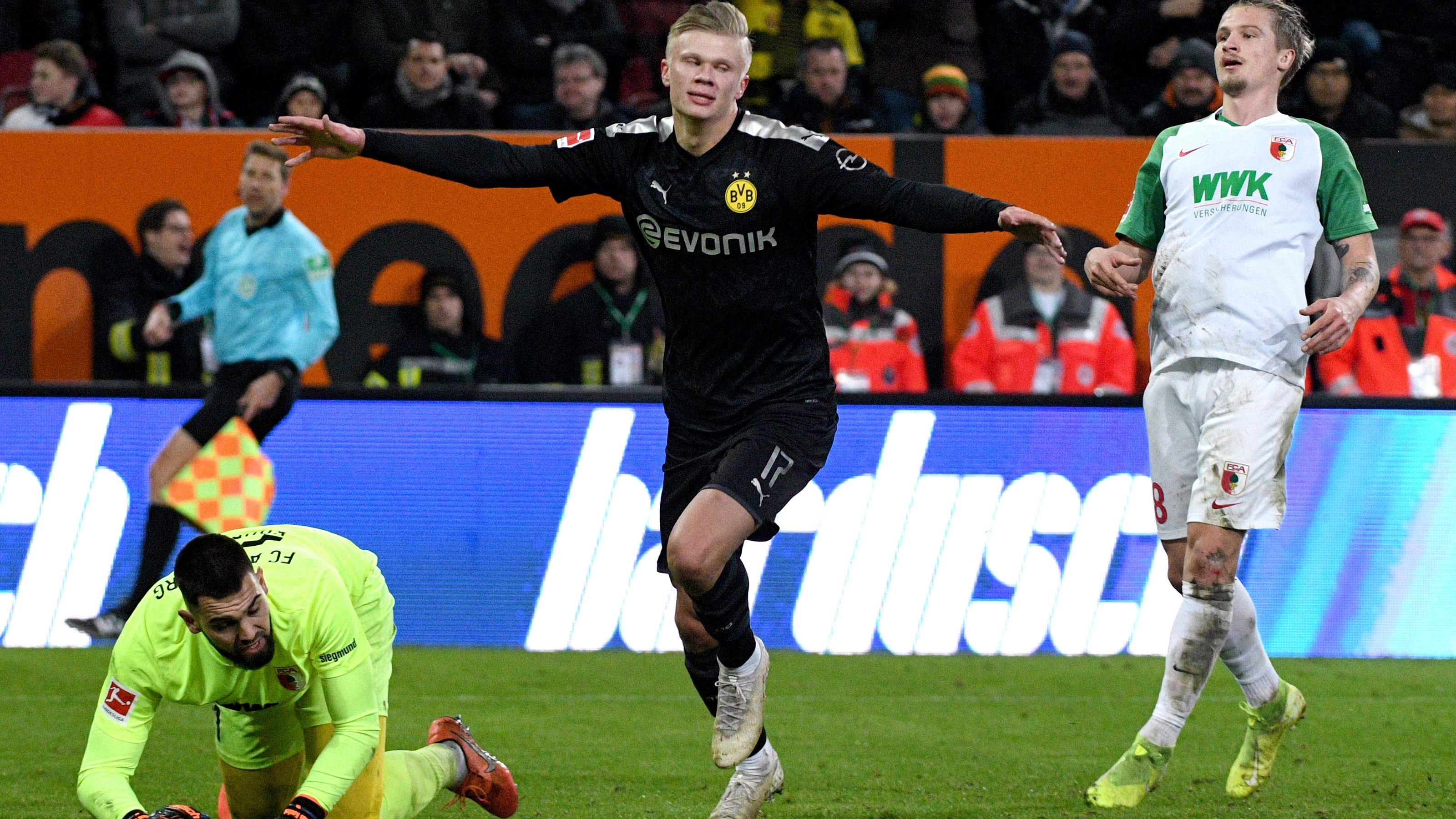 Haaland 19 Scores Hat Trick On Dream Debut For Dortmund