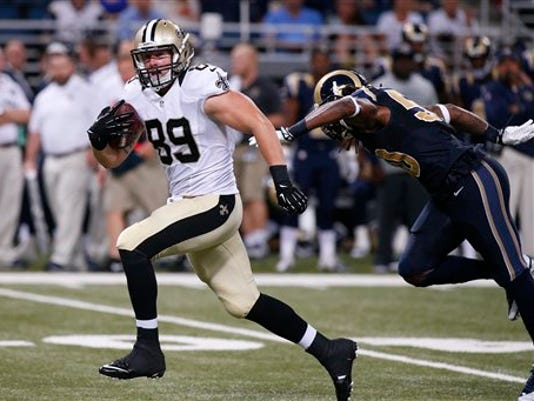 Saints Rams Football_Greg