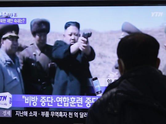 AP South Korea Koreas Tension