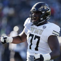 Pittsburgh Steelers draft Western Michigan tackle Chukwuma Okorafor in third round