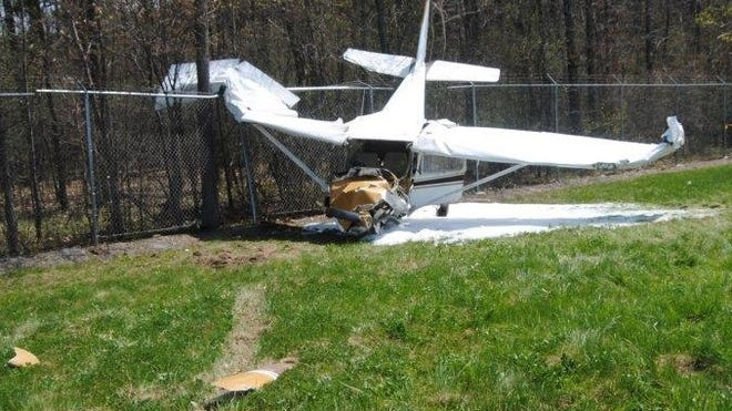 The pilot of this single-engine Cessna was killed in a crash Sunday, May 3, 2015, at the Penn Yan Airport.