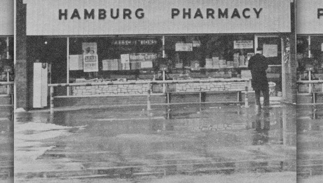 Phamracist George August Reck was shot to death at his Hamburg Pharmacy in January 1967. The convicted killer, James Edward Hayton, continues today to maintain his innocence.