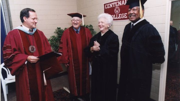 From the archives: Barbara Bush urges Centenary graduates to `make us proud'