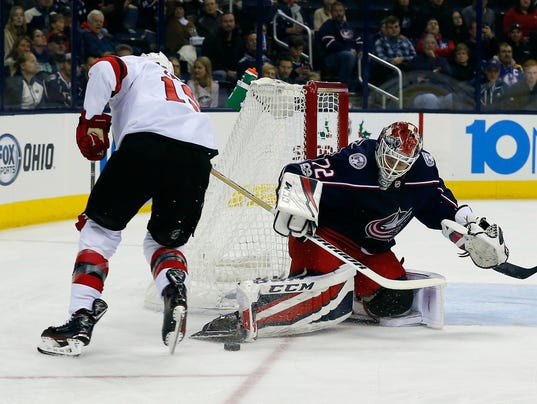 NHL: New Jersey Devils at Columbus Blue Jackets