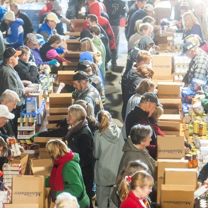 Mountaire Farms packs Thanksgiving for Thousands in Selbyville