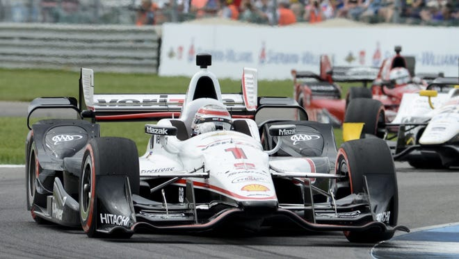 Will Power wins the 2nd Annual Angie's List Grand Prix of Indianapolis at the Indianapolis Motor Speedway. Friday, May 9, 2015