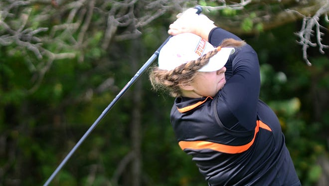 Heather Fortushniak is one of two All-Staters on a Brighton golf team that is ranked second in the state.