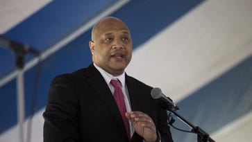 """U.S. Rep. Andre Carson, D-Ind., said the most recent threat he has received, which he publicly disclosed Tuesday without going into details, stood out """"simply because the environment is so hostile right now."""""""