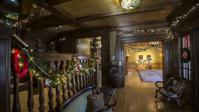 The Deck the Halls exhibit opens Nov. 18 at the Oshkosh Public Museum.