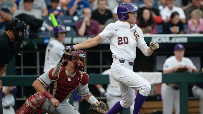 Outfielder Antoine Duplantis got his 200th hit as an LSU Tiger on Wednesday night.