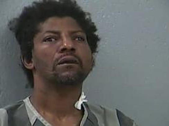 """In 2015, Springfield police said 47-year-old Lonnie Goldsberry resisted arrest with """"unnatural human strength"""" while wielding a large sword."""