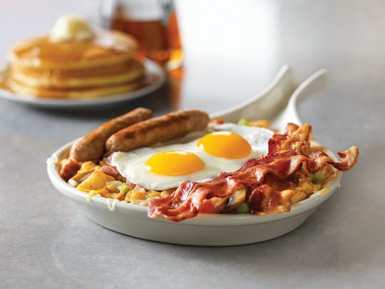 Ultimate Skillet breakfast at Village Inn.