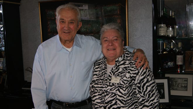 Mama, the longtime doyenne of Eldorado banquets, recently retired after 40 years with the casino. She's shown here with Eldorado patriarch Don Carano.