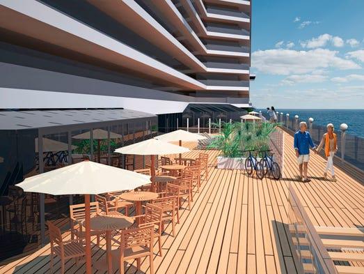New cruise ships for 2017: MSC Seaside