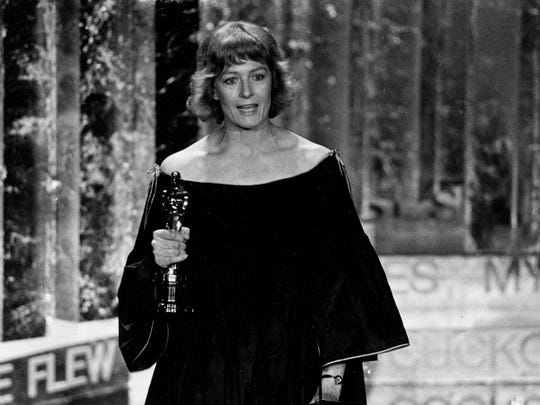 """Vanessa Redgrave denounced """"Zionist hoodlums"""" in her acceptance speech for best supporting actress for """"Julia"""" in 1978."""