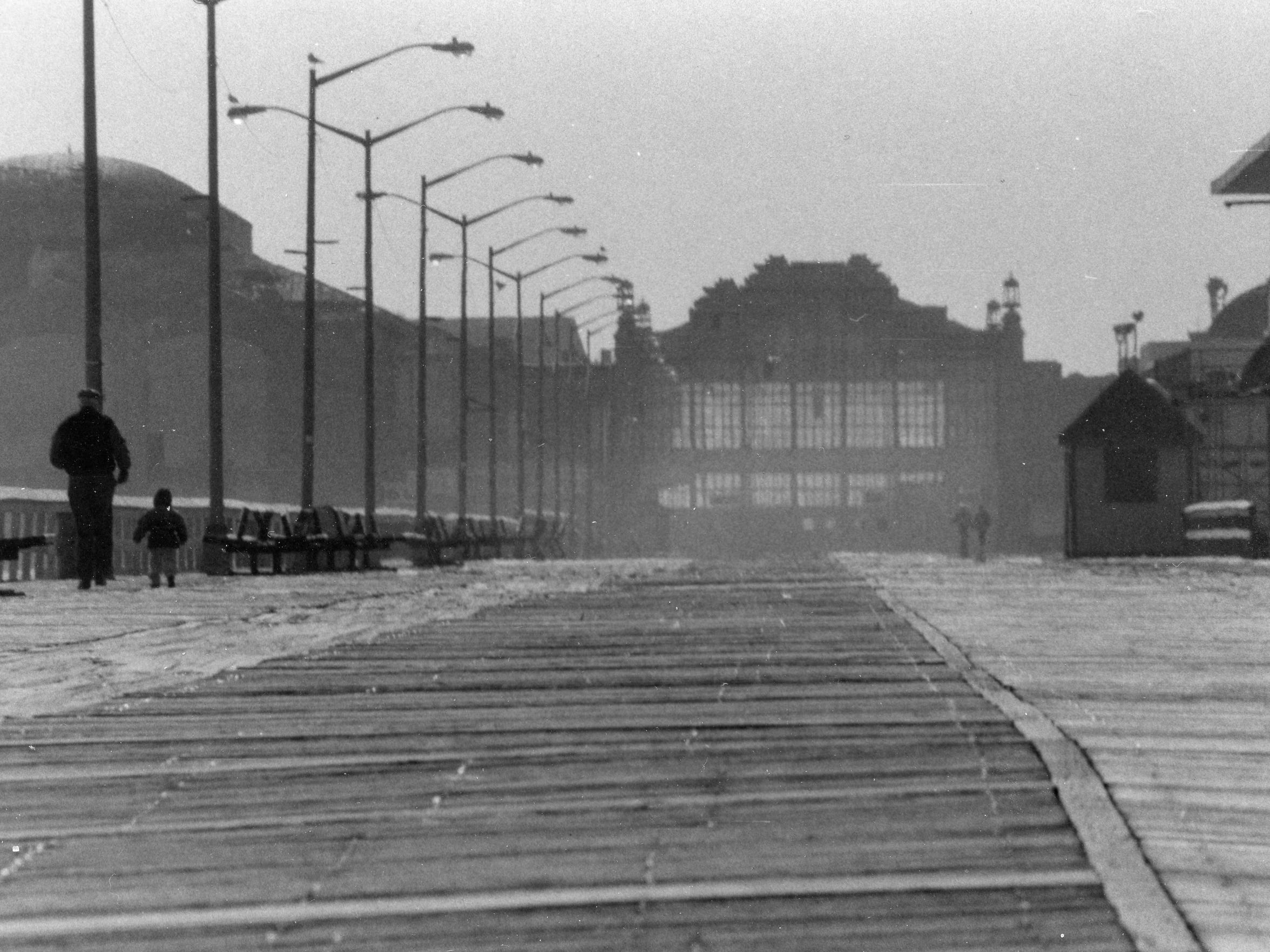 The Asbury Park Boardwalk in 1996 was considerably