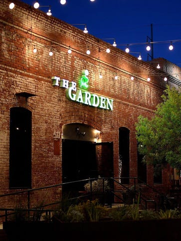 The once popular Downtown restaurant The Garden closed