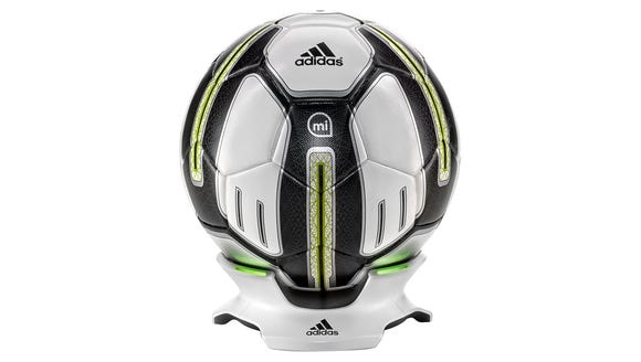 A connected soccer ball for shot training