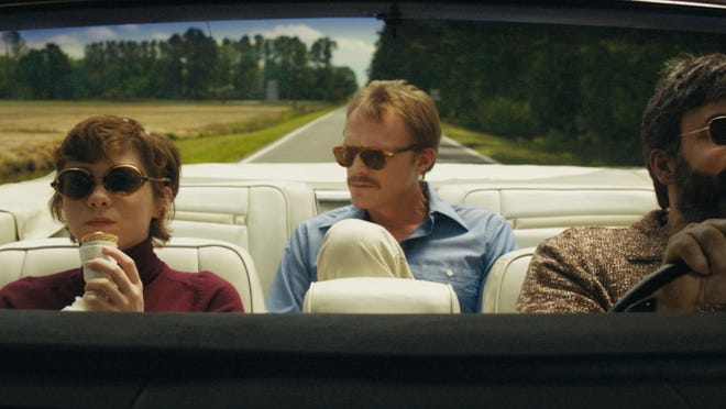 Sophia Lillis, Paul Bettany, and Peter Macdissi hit the road.