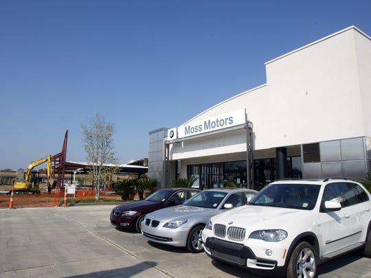 BMW facility at Moss Motors.