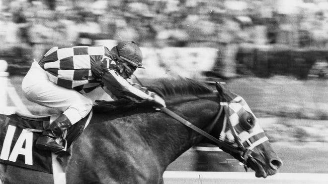 Secretariat won the 1973 Kentucky Derby and ended up winning the Triple Crown.