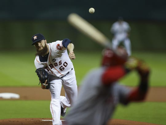 Houston's Dallas Keuchel was the American League's only 20-game winner in 2015.