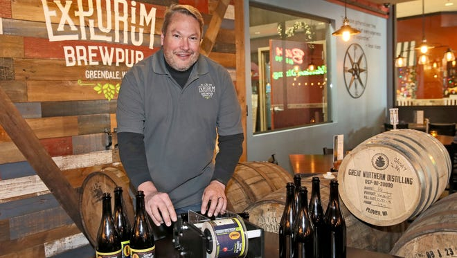 Mike Doble is owner of The Explorium Brewpub in Greendale.