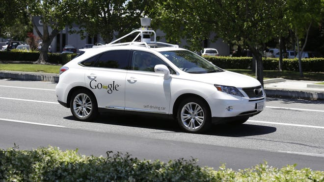 A Google self-driving car goes on a test drive in Mountain View, Calif. Self-driving cars are expected to usher in a new era of mobility, safety and convenience. The problem, say transportation researchers, is that people will use them too much.