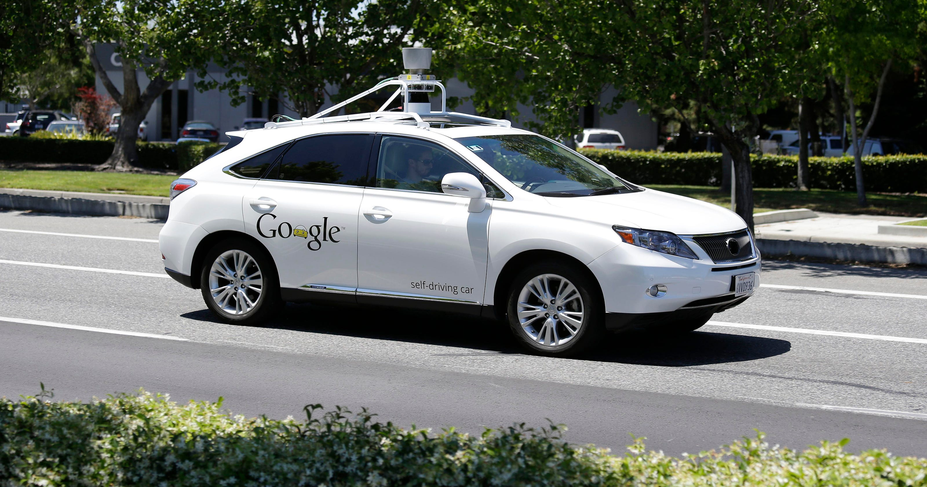 Google: No U S  OK needed for self-driving test cars