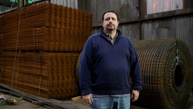 """Vince Pappas, owner of Stone Steel Corp. in Baltimore, estimates he spends 10 hours a week studying the regulations his company must comply with, and deciding how to minimize the impact. """"It is way too cumbersome – too much reporting,"""" he says."""
