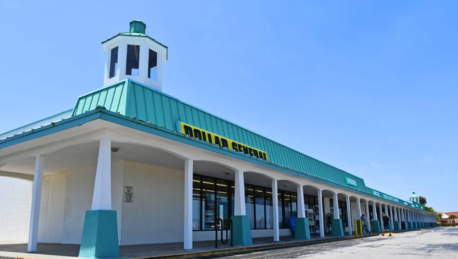 Palm Bay's Community Development Block Grant money helped pay for a new facade at Palm Bay Plaza.