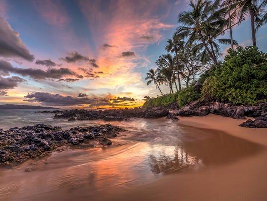 Maui sunset wonder